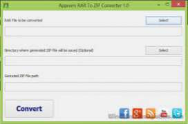 RAR to ZIP Converter